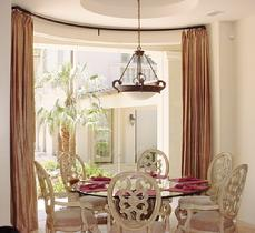 Curved Drapes and Curtains